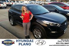 https://flic.kr/p/EihUoV | Congratulations Rachael on your #Hyundai #Tucson from Frank White at Huffines Hyundai Plano! | deliverymaxx.com/DealerReviews.aspx?DealerCode=H057