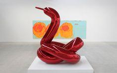 Vue d'exposition — Un américain à Paris, Gagosian Gallery, Le Bourget, Paris, 2014