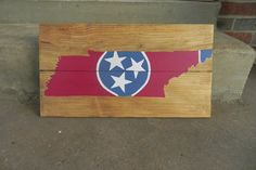 A personal favorite from my Etsy shop https://www.etsy.com/listing/254232483/tennessee-tristar-sign-customizable