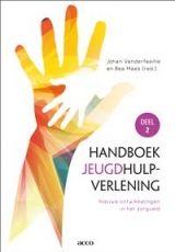 Dit handboek wil allen die beroepshalve met de jeugdhulpverlening in contact komen of erin werkzaam zijn (orthopedagogen, psychologen, maatschappelijk werkers, artsen, verpleegkundigen, paramedici, leerkrachten, opvoeders en contextbegeleiders, enzovoort) wegwijs maken in het doolhof van de hulpverlening. Het is tevens een standaardwerk voor universitaire opleidingen en hogescholen in Vlaanderen. ISBN: 9789033498541