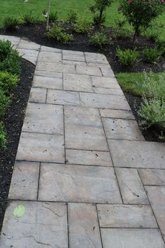 Steps to haven! This attractive walkway features Cambridge Pavingstones with ArmorTec. Installation: Design & Build Landscape