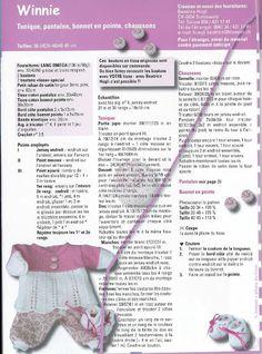 Billede: Knitting Dolls Clothes, Baby Doll Clothes, Doll Clothes Patterns, Doll Patterns, Clothing Patterns, Knitting Patterns, Cardigan Bebe, Winnie, Patterned Socks