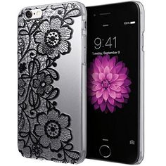 Malloom Clear Black Lace Floral Flower Plastic Hard Case Cover for iPhone 6S Plus Malloom http://www.amazon.com/dp/B016I387L6/ref=cm_sw_r_pi_dp_y22gwb1KT8ETA