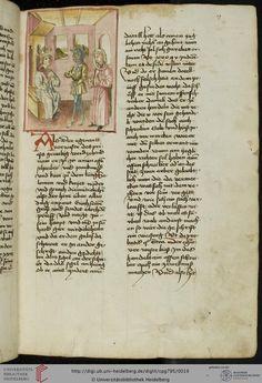 Cod. Pal. germ. 795: Jacobus de Teramo: Belial, dt. (Schwaben (Augsburg?), um 1460/1470)