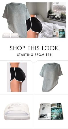 """I wish it was simple"" by invisible-someone ❤ liked on Polyvore featuring NIKE"