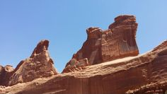 Family vacation. Arches National Park, Moab Utah. 2014