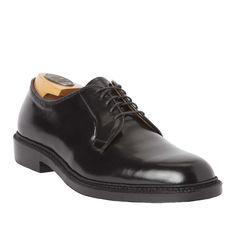 Plain Toe BlucherBlack Shell Cordovan9901 – Alden Shoes Madison Avenue New York
