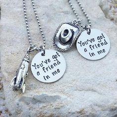 Jewelry Necklace Disney Necklace Best Friend by KKandWhimsy