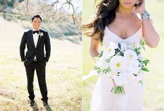 Romantic and Elegant Outdoor Wedding