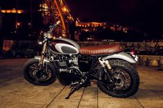 triumph scrambler amazonia custom by ton up garage Car Tuning