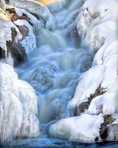 Great Falls, Androscoggin River, Auburn, Maine; photo by Bob Orsillo