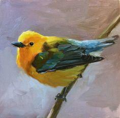 Shauna Finn 'Golden Swamp Warbler'