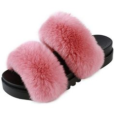 Shelby furry slippers ($77) ❤ liked on Polyvore featuring men's fashion, men's shoes, men's slippers, mens slip on slippers, mens platform shoes, mens leather lined slippers, mens leather shoes and mens fuzzy slippers