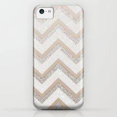 NUDE CHEVRON iPhone 5C Case