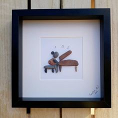 Stone Pictures Pebble Art, Stone Art, Stone Crafts, Rock Crafts, Music Lovers, Lovers Art, Der Pianist, Piano Gifts, Drummer Gifts