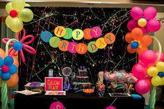 Neon Glow Birthday Party on Kara's Party Ideas | KarasPartyIdeas.com (24)