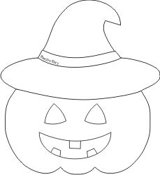 Citrouille d& - Toddler songs/activities/coloring/projects - # # Dulceros Halloween, Moldes Halloween, Halloween Templates, Adornos Halloween, Manualidades Halloween, Halloween Crafts For Kids, Halloween Movies, Halloween Coloring, Halloween Cards