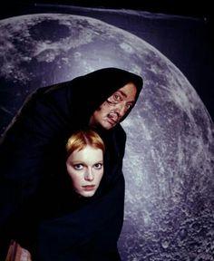 Salvador Dali & Mia Farrow