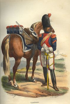 Carabiniere a cavallo prima del 1809