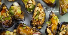 Gegrilde mossels / So nuong mo hanh (foto: Pho Vietnam © Kim Le Cao)