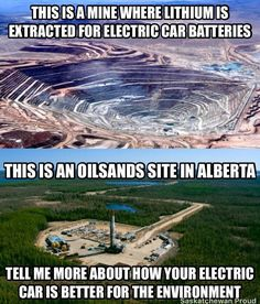 Lithium Mining vs Oil Sands Meme: A Thorough Response Liberal Hypocrisy, Liberal Logic, Stupid Liberals, Socialism, Politicians, Oil Sands, Political Quotes, Political Views, Out Of Touch