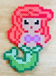 Image result for perler bead cute disney princesses