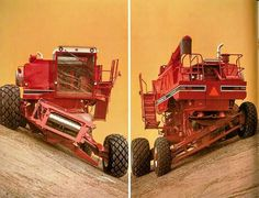 IH 1470 Axial-Flow Hillside Combine Ad International Harvester Truck, International Tractors, Agriculture Photos, John Deere Combine, Combine Harvester, Case Tractors, Tractor Pulling, Red Tractor, Engin