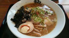 味噌ラーメン(手もみ太麺)@由利本荘市、麺屋鼓志