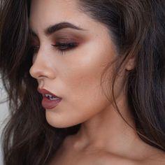 """Eyes are the new Matte and Duo Chrome shadows 😍 check previous post for full makeup details 😘 Makeup Geek, Makeup Inspo, Makeup Inspiration, Makeup Tips, Beauty Makeup, Hair Makeup, Hair Beauty, Pretty Makeup, Love Makeup"