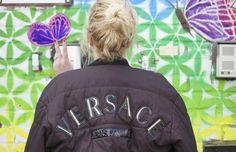 awesome Vintage: Versace Bomber Jacket