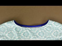 Sewing Bias Binding onto Curved Seams - YouTube
