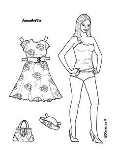 Karen`s Paper Dolls: Annabella
