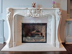 Most recent Images limestone Fireplace Mantels Concepts Excellent Absolutely Free Fireplace Mantels designs Popular Fireplaces are really among my favorite Marble Fireplace Mantel, Fake Fireplace, Brick Fireplace Makeover, Limestone Fireplace, Marble Fireplaces, Fireplace Surrounds, Fireplace Design, Antique Fireplace Mantels, Stone Accent Walls