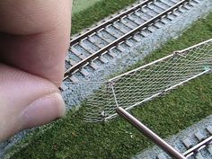 Making Chain Link Fence - T-Trak Model Railroading