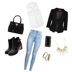 Casual oufit for fall by sostudd on Polyvore featuring Boohoo, H&M, ALDO, Alexis Bittar, Judith Jack and Valentino Judith Jack, Alexis Bittar, Aldo, Boohoo, Valentino, Casual, Polyvore, Image, Fashion