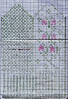 Barnvanten Linnéa – Dela dina vantar! Knitted Mittens Pattern, Knit Mittens, Mitten Gloves, Knitting Socks, Motif Fair Isle, Rainbow Dog, Drops Patterns, Knitting Charts, Knitting Accessories