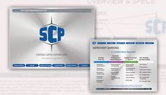 """Website design for Strategic Capital Partners Corp (Merchant Banking industry) which includes a CMS for the organization to publish/edit news updates on individual client pages. News updates also appear on a live scrolling """"news ticker"""" that is displayed on every page. As the Project Manager, I created a brand style guide to be followed and manage the web development progress. Banking Industry, Brand Style Guide, Creating A Brand, Fashion Branding, Project Management, Web Development, Style Guides, Website, Organisation"""