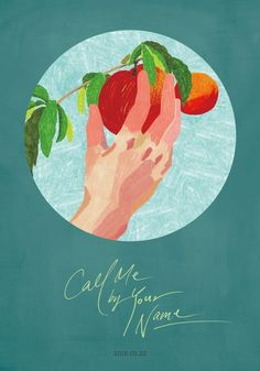 Alternative Call Me By Your Name movie poster (x) Illustration Inspiration, Illustration Art, Your Name Movie, Name Drawings, Arte Sketchbook, Name Art, Illustrations And Posters, Aesthetic Art, Call Me