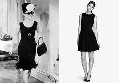 HOLLY GOLIGHTLY, Breakfast at Tiffany's: When isn't a LBD on point? Find the perfect black party dress to wear for this costume and then you can wear it to basically everything. You won't regret this costume decision!
