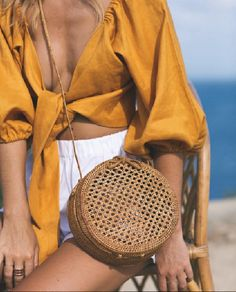 The Micky Bag + Mia Top Curated by @sommerswim