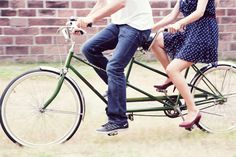 I love my bike, but need a tandem to ride with my love. :)