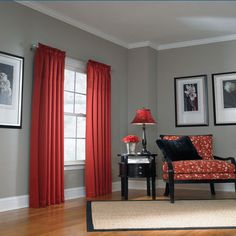 allen + roth Lincolnshire curtains from Lowes