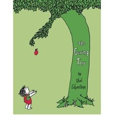 The Giving Tree by Shel Silverstein. This book gives many one-syllable stressed words, but also a few two-syllable stressed words. When students read the words they can practice identifying the stresses in words. Children Book Quotes, Best Children Books, Childrens Books, Shel Silverstein, Habits Of Mind, 7 Habits, Obscure Facts, Good Books, My Books