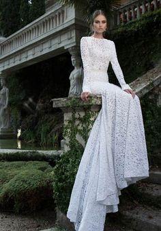 Una sposa in inverno: Foto - Di•Lei - Donne- Un abito per sognare: semplicemente bellissimo (Berta Bridal)