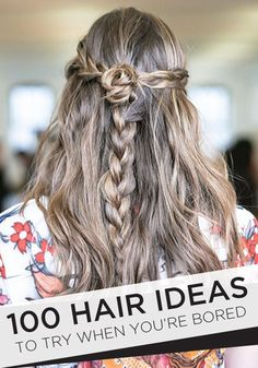 Tons of hair ideas to try!