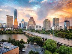Another West Coast tech company relocates HQ to Austin in big move - CultureMap Austin Austin Skyline, Corpus Christi Texas, California Zephyr, Texas Travel, Dallas Travel, Out Of The Woods, Galveston, Luxury Apartments, Austin Texas
