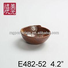 Japanese saucer bowl&ceramic bowl E482-52  Size: diameter 4.8 inch