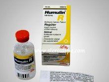 Humulin R 100 IU/ml Regular 10ml by Eli Lilly / Vial - Steroidspk