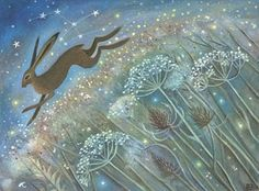 The Hare That Loved The Stars. Karend Davis's Painting.