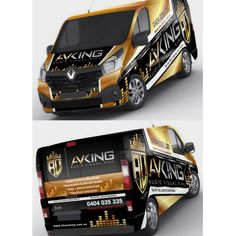 Ontwerpen | Audio visual / Electrical company - Van needs some COLOUR! | Car, Truck or Van Wrap ontwerpwedstrijd